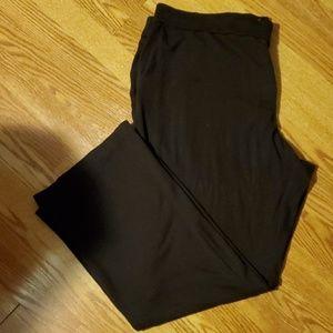 Ashley Stewart Ponte Knit Pants 26Tall